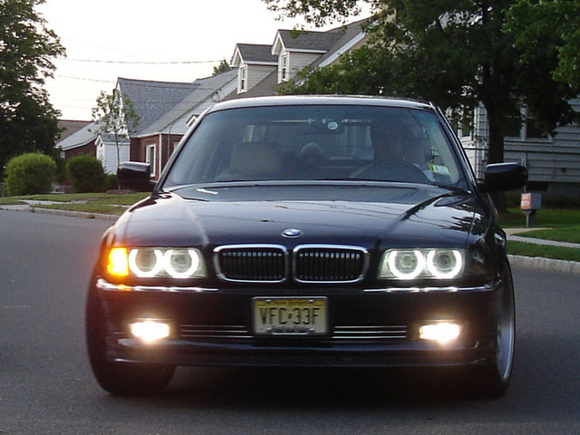 """BMW E38 Club - Хочу поставить себе вставки в фары """"Ангельские глазки"""")))"""